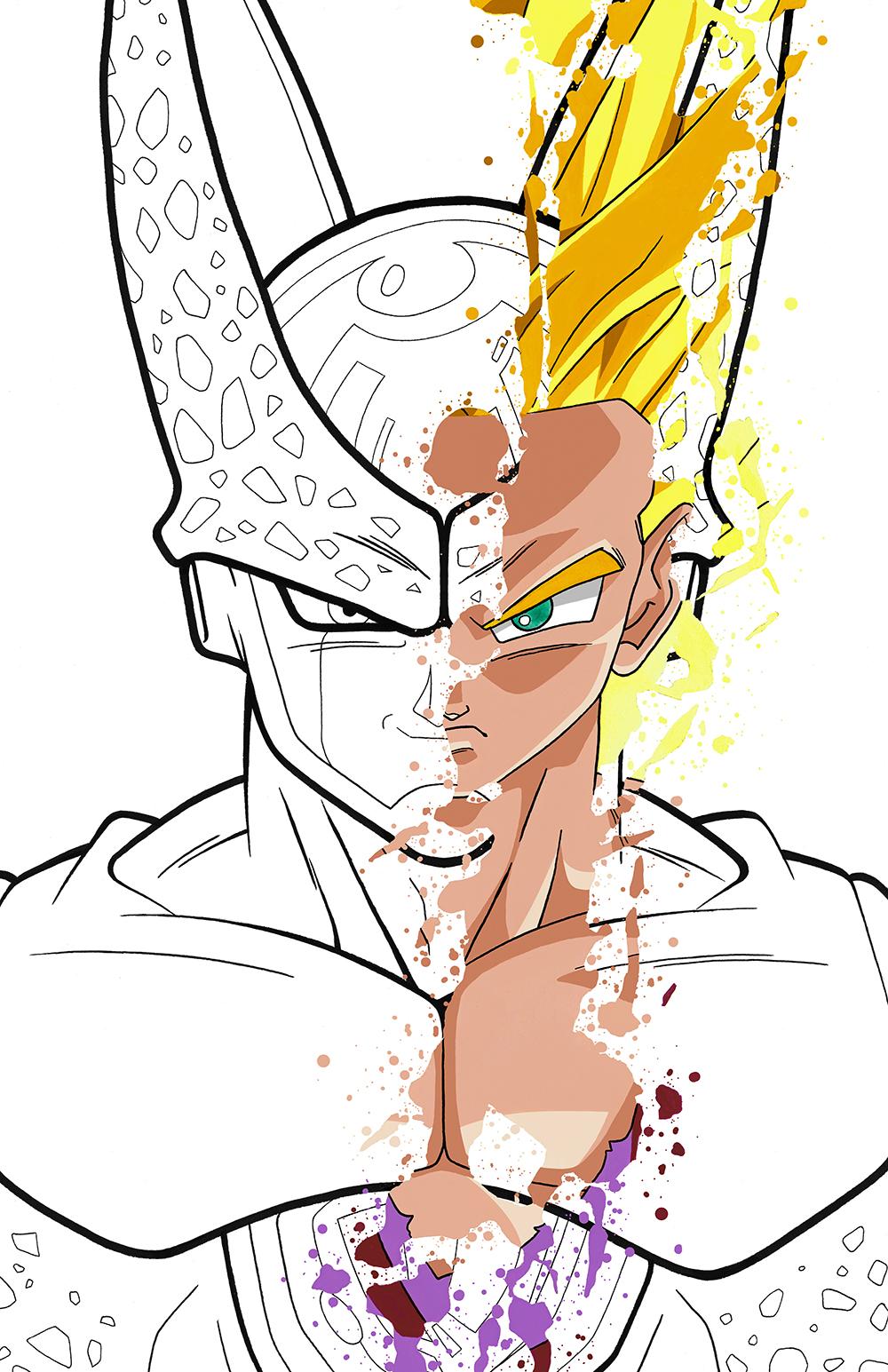 1Gohan, Cell.jpg