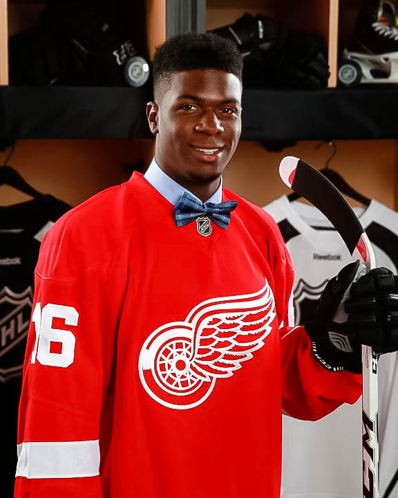 """GIVANI SMITH - Drafted by Detroit Red Wings""""I met Levs two years before the OHL Draft, when I was 14 years old. I was young and not lifting weights, just running sprits in the offseason. My older brother had been training at In-Tech for years.Levs taught me how to lift properly and helped me gain muscle. The on-ice training allowed me to take my game to the next level. When preparing for the combine, they made sure I was familiar with the entire process and with each exercise, and I made the top 10 five times. The training has made me stronger, faster, a better skater and being around all the pro guys, showed me how hard I have to work to get to that level.I have the Detroit Red Wings camp coming up - I feel good. I feel Strong. I'm excited."""""""