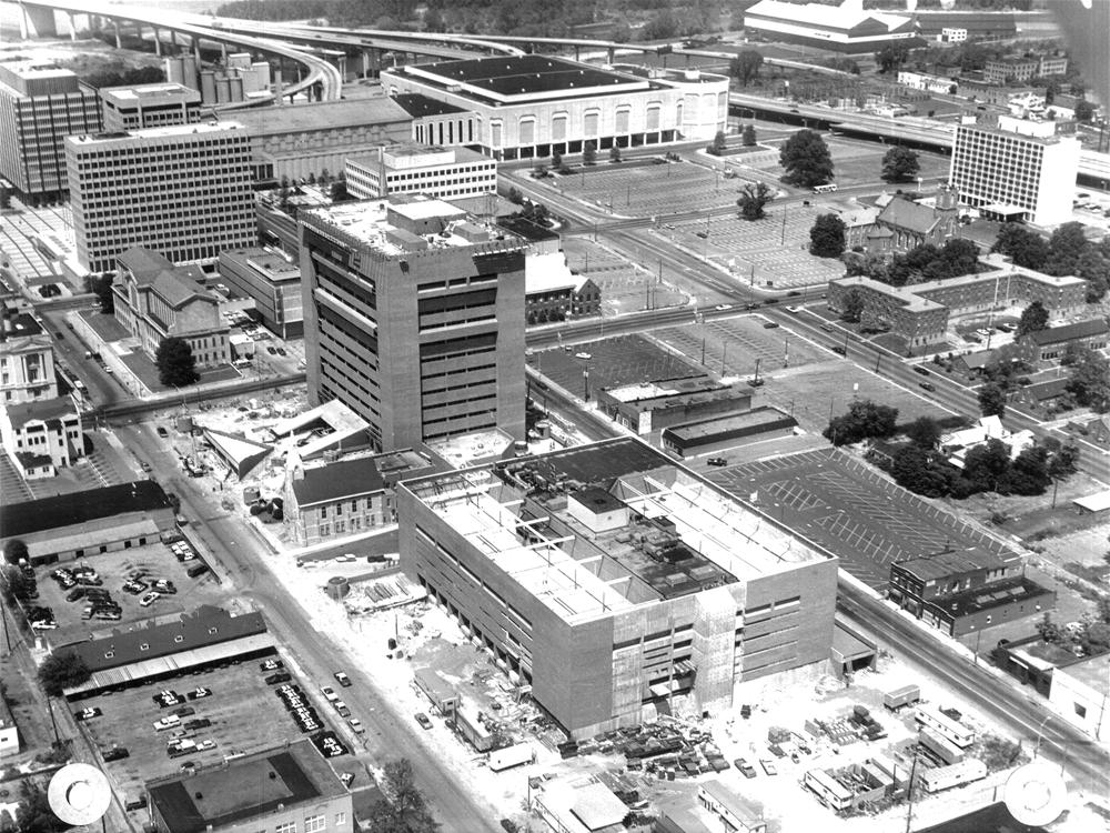 Criminal Justice Center - Memphis, TN - 1979