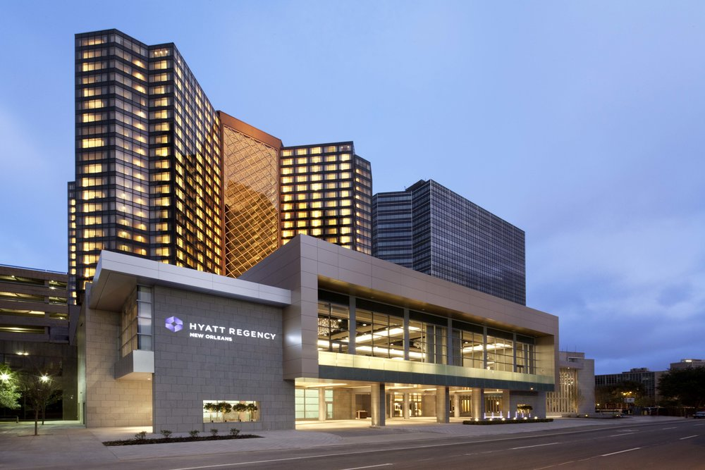 BEST OF THE BIG EASY - Located next door to the Superdome, Smoothie King Center and Champions Square, the Hyatt Regency offers easy access to the area's most popular attractions. Hop on the Loyola Avenue Streetcar, or walk to the French Quarter, Arts District, and the scenic Mississippi Riverfront.