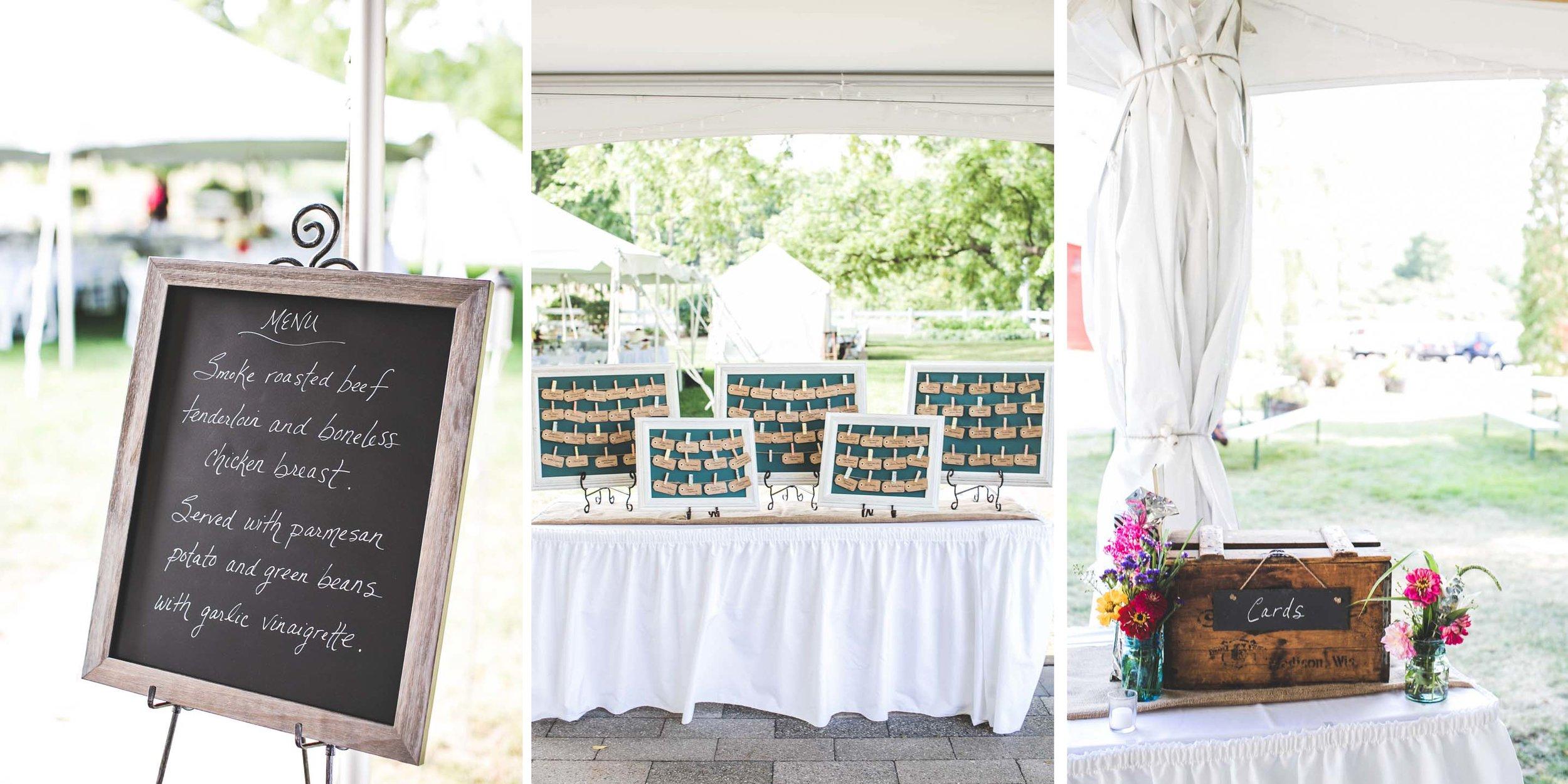 Marcie & Bill Wedding Reception — audre rae photography