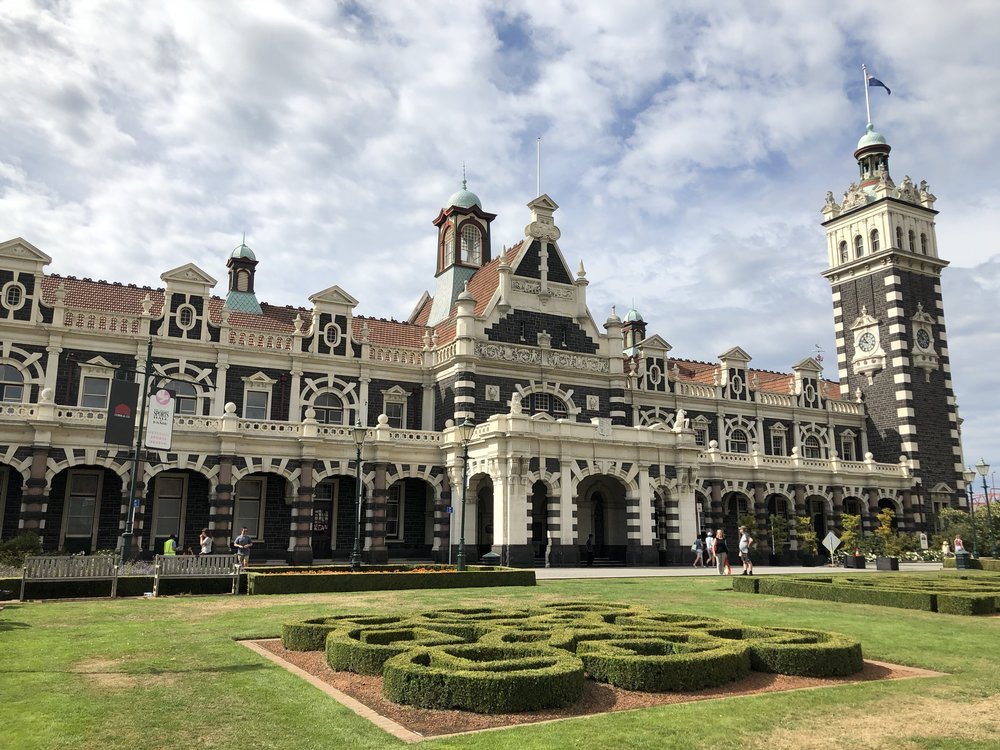 Dunedin Railway Station - One of the many of the projects we are proud to have been involved with is the restoration of the historic Dunedin Railway Station, which was completed in 2000.
