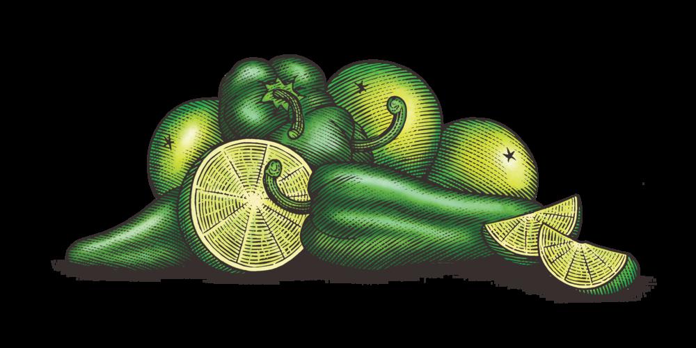 Poblano Heat & Lime