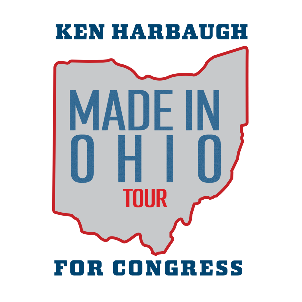 - From the beginning, this campaign has been about putting people first. Ken's already travelled across the Ohio 7th dozens of times over. He's held over 20 town halls and  hundreds of public events.But in the last 30 days, the campaign will be kicking into a new gear. On the Made in Ohio Tour, Ken will be holding over 100 events across the entirety of the district. He'll be in our living rooms and community centers; at our parades and town halls. And he'll be joined by some special guests along the way.1000 miles. 100 events. 10 counties. 1 goal in November.Questions? Contact us at info@kenharbaughforcongress.com