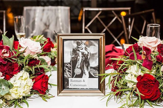 The wedding we recently shot at @paramountaurora was comic book-themed! While the decor was still very classic with a white, burgundy, and pink color palette, comic books and superheroes popped up with the table names, the photo booth props, and the cake! We also took photos of the wedding rings on comic pages. 💍❤️ • • • • #weddingflowers #weddingdecor #weddingphotography #weddingphotographer #chicagoweddingphotographer #chicagoweddingphotography #milwaukeeweddingphotographer #milwaukeeweddingphotography #weddinginspiration #weddingpictures #mapleandoak #mapleandoakweddings #chicagophotographer #kellypelozaphoto #illinoisweddings #comicbookwedding