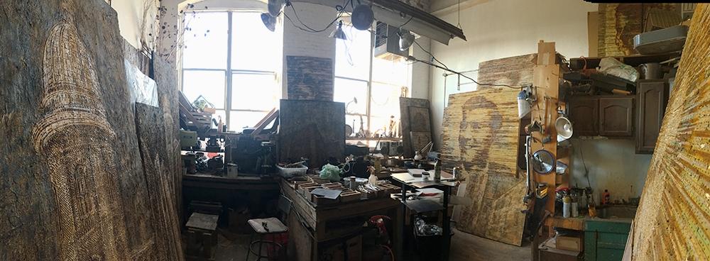 Studio in Providence, Rhode Island.