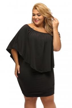 Plus Size Black Out Dress