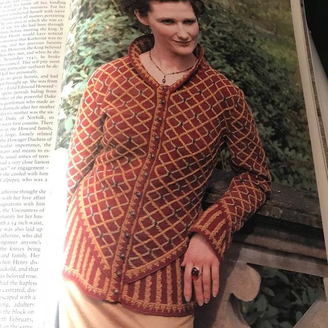 Katherine Howard, Jade Starmore, Tudor Roses, 1998 edition