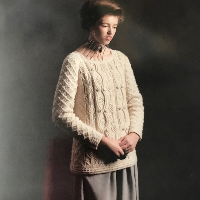 Margaret Tudor by Alice Starmore, Tudor Roses, 2013 edition