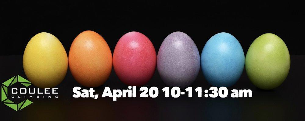 Easter Egg Hunt! - $10 per climber ($5 for members)