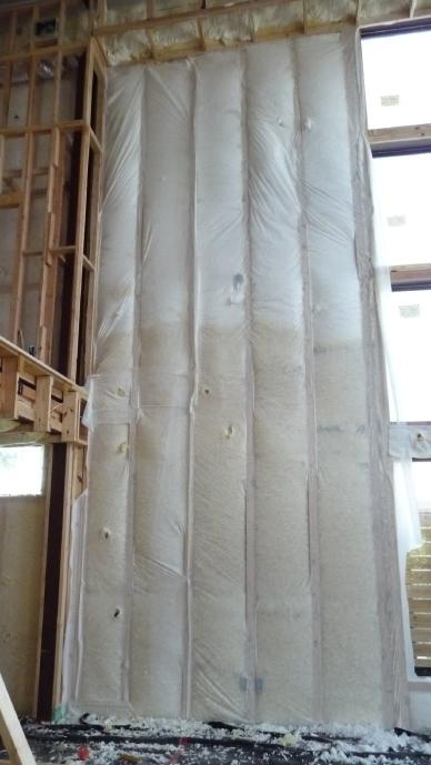 WALL INSULATION, R-60+: - SUPERIOR TO R-19 TYPICAL