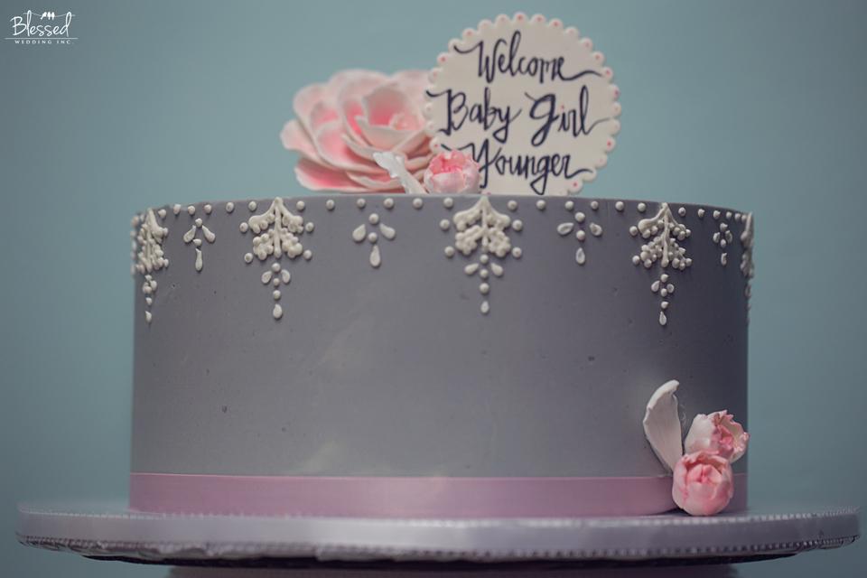 San Diego Newborn Cake