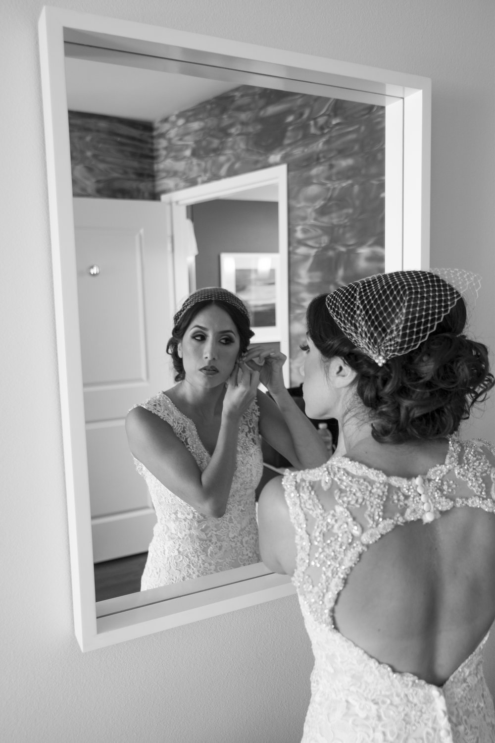 Getting Ready Wedding Photography san diego