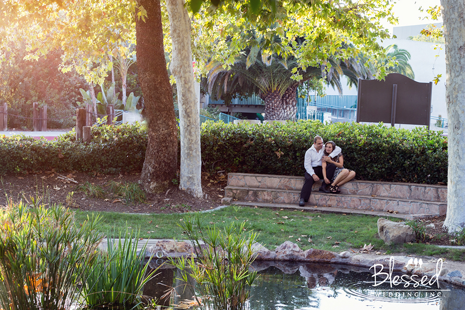 San Diego State University Engagement Photography