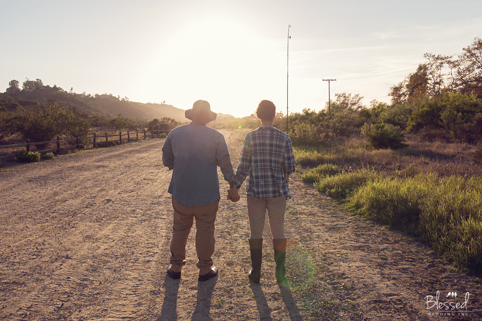 San Pasqual Canyon Engagement Photography