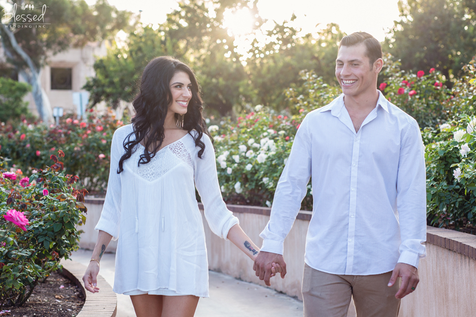 Balboa Park Engagement Photography