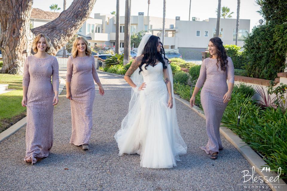 Bridesmaids in Coronado Ca