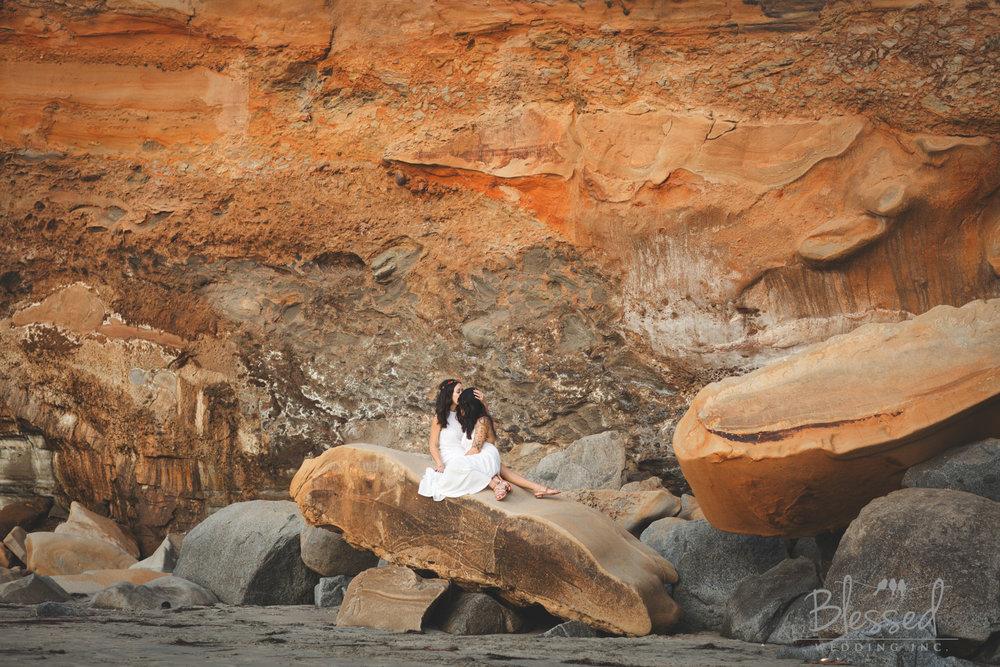 La Jolla Beach Engagement Session by San Diego Wedding Photographers Blessed Wedding-33.jpg