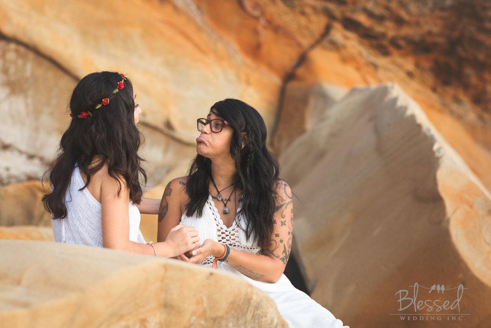 La Jolla Beach Engagement Session by San Diego Wedding Photographers Blessed Wedding-35.jpg