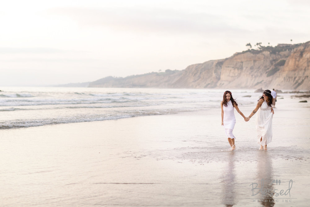 La Jolla Beach Engagement Session by San Diego Wedding Photographers Blessed Wedding-50.jpg