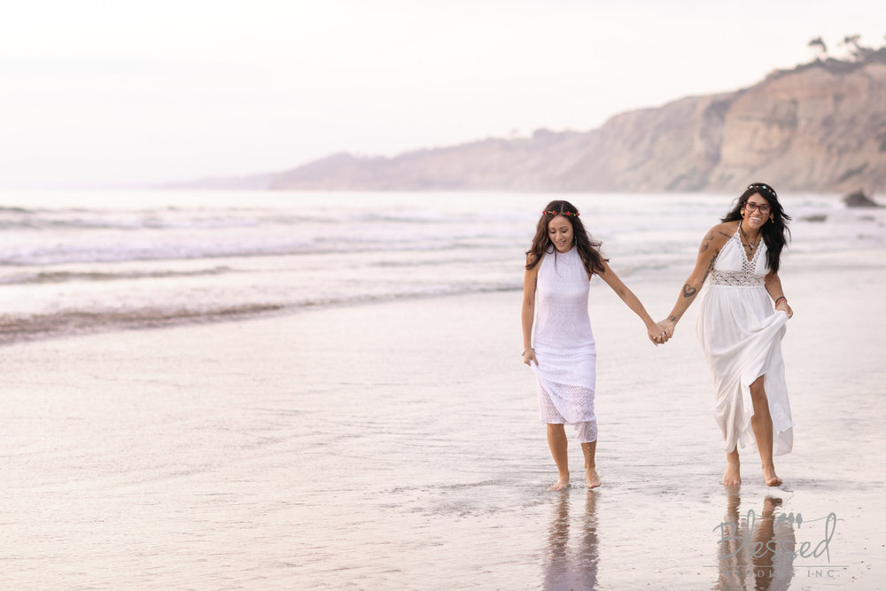 La Jolla Beach Engagement Session by San Diego Wedding Photographers Blessed Wedding-51.jpg