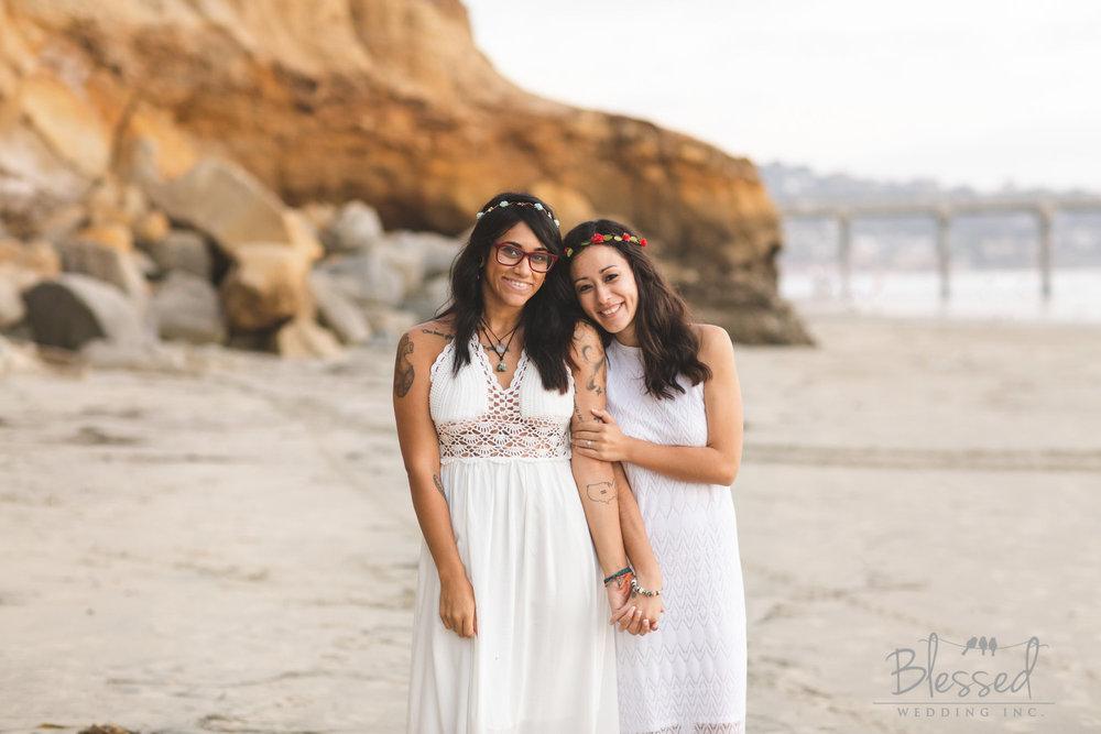 La Jolla Beach Engagement Session by San Diego Wedding Photographers Blessed Wedding-55.jpg