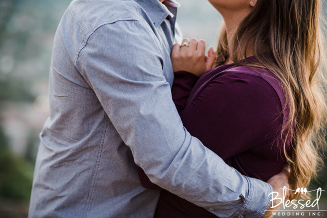 Mt. Helix Engagement Photography