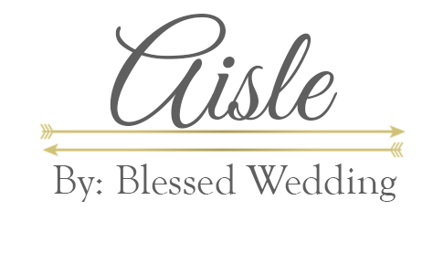 Aisle by Blessed Wedding San Diego Photography