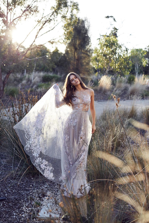 Suzanne Harward wedding Dressed