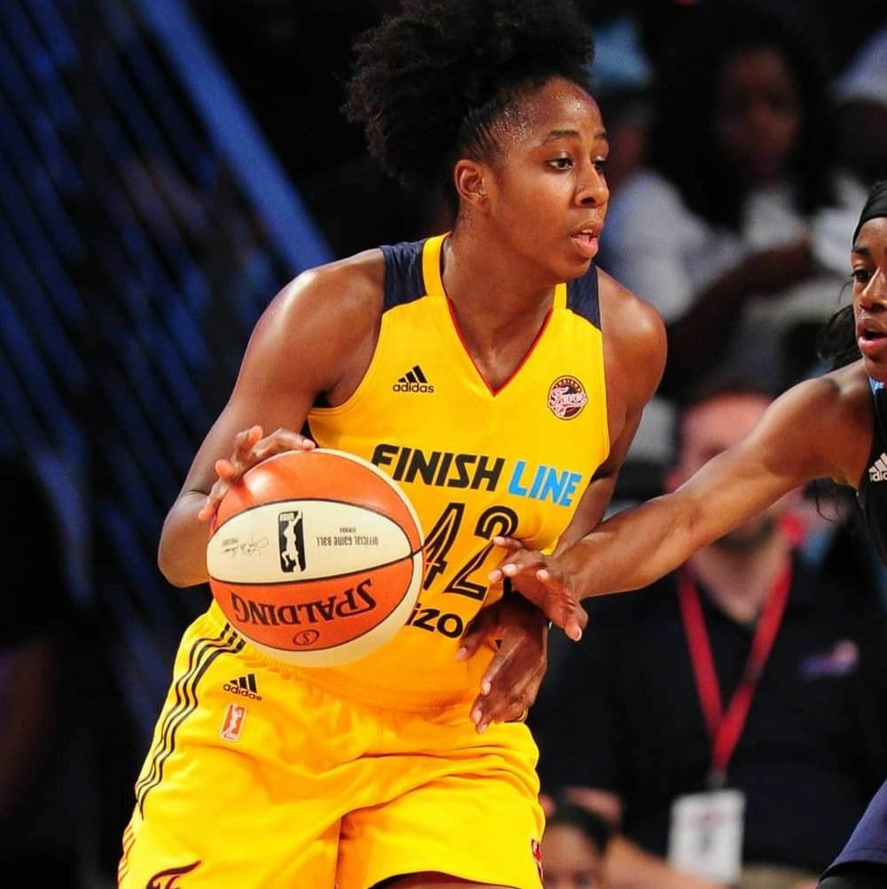 Shenise Johnson - Indiana fever, wnba