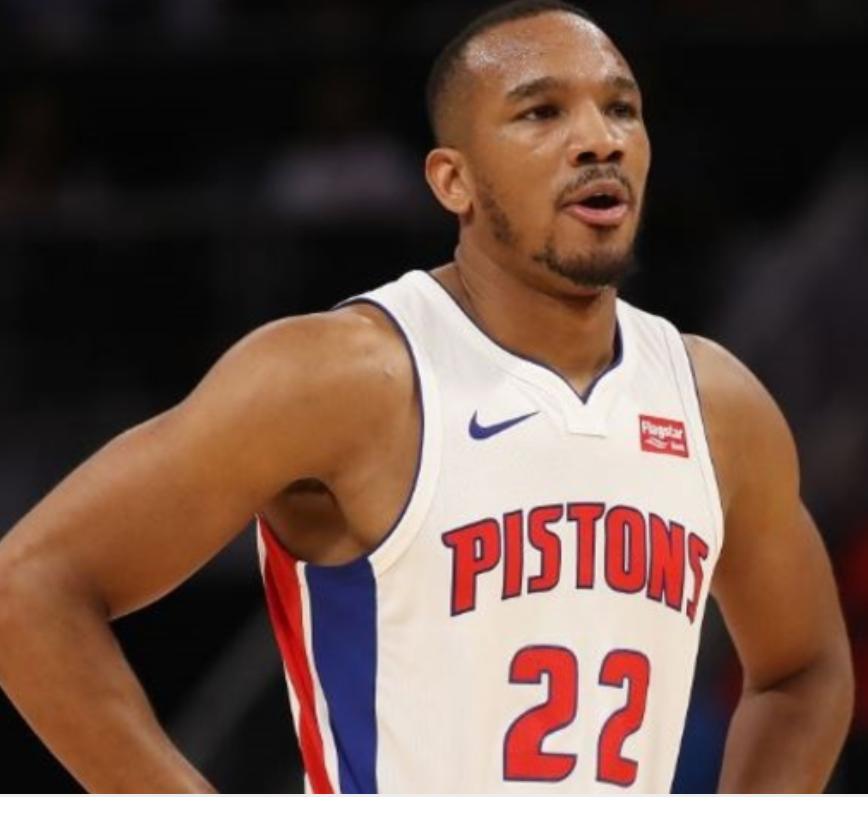 Avery Bradley, Detroit Pistons, NBA
