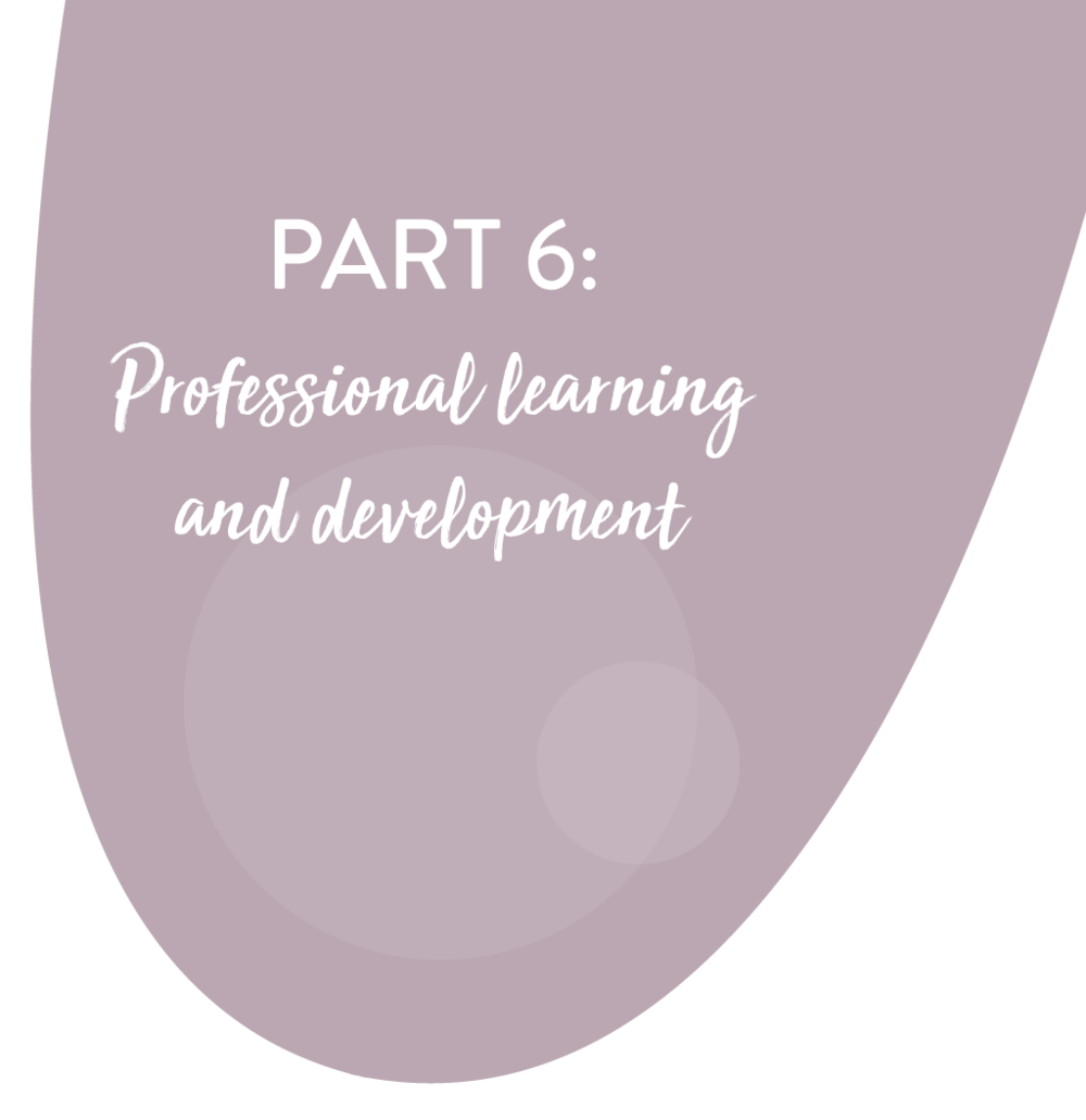 "DESCRIPTION - ""...members of staff have current and ongoing good quality education in ASD and those agency procedures should incorporate best practice in ASD.""""Different professional groups and multidisciplinary teams should be given the opportunity to train together.""""In addition to workshops and seminars, all professionals and paraprofessionals who are learning new skills should be offered opportunities for practice, coaching and feedback."""