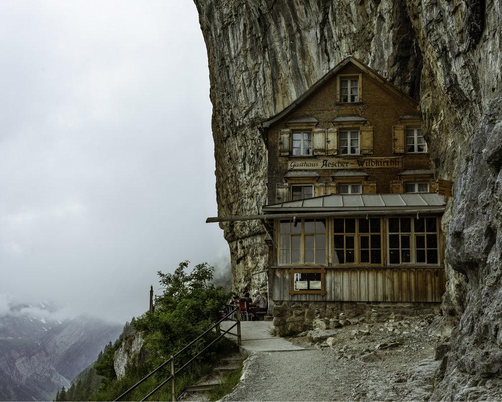 The famous Gasthaus Aescher