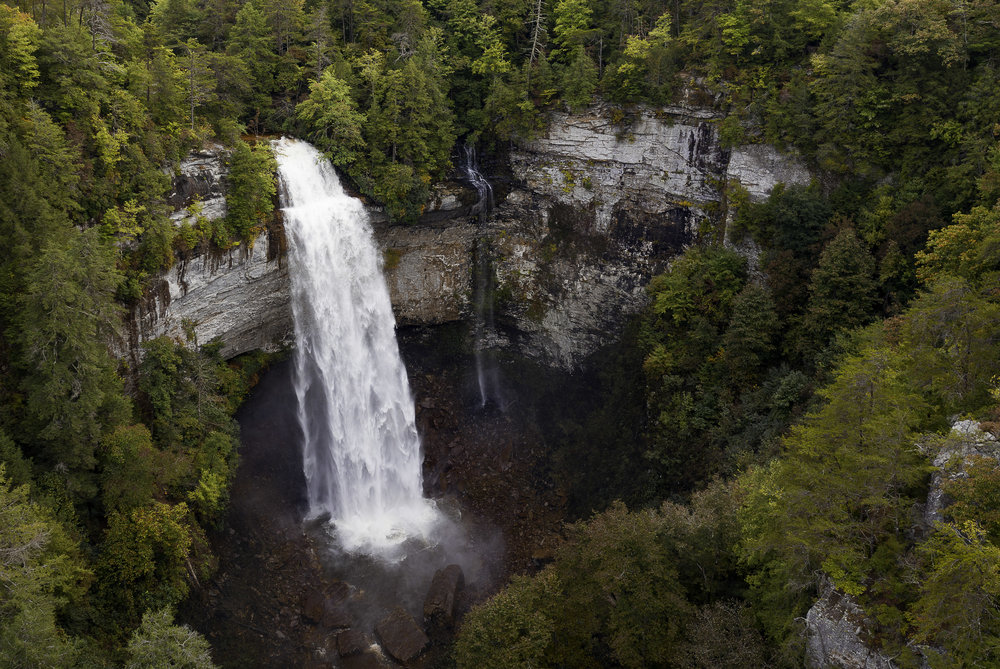 Fall Creek Falls In the early fall after a few days of rain