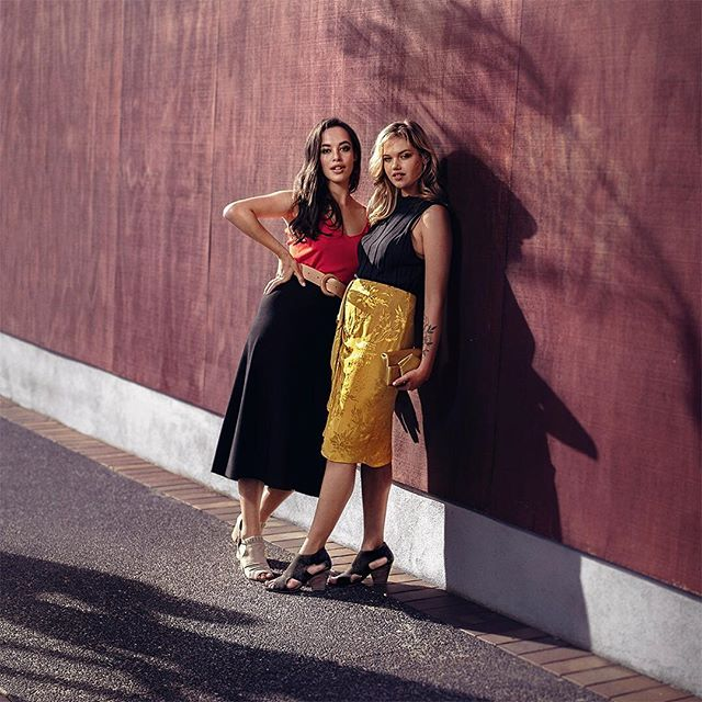 @charlee628 and @susanna.emi working them shoes 👠 for @hannahsnz . @uniquemodelmanagement  @ogilvynz  @tori_siviter @parismitchelltemple  @vinniebombshell  @kirstymackintosh . . . #shoes #footwear #fashion #location #shoot #photoshoot #campaign #shadows #model #style #womenswear #girls #rocking #it #instafashion