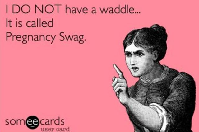 😂 . #pregnancyswag