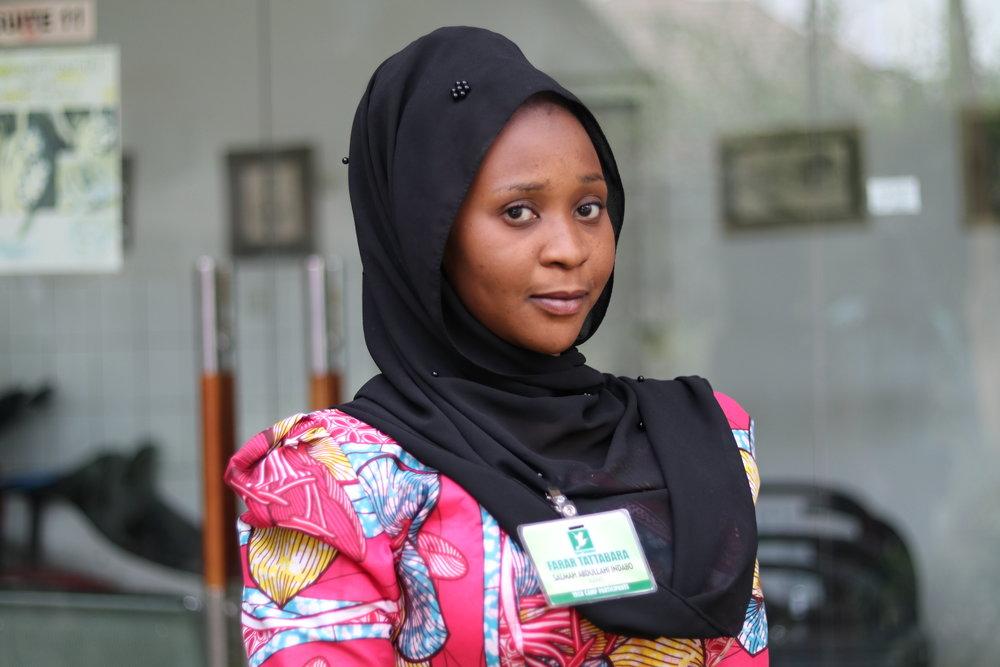 SALMA ABDULLAHI INDABO KANO STATE