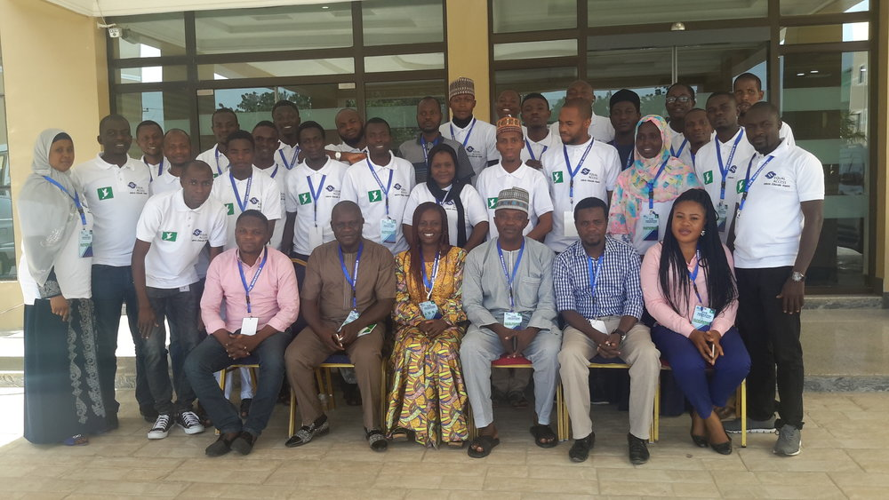 Group Photograph of facilitators, juries and all participants