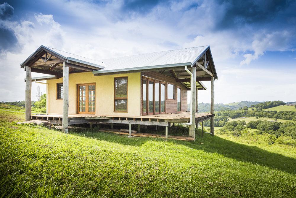 Hempcrete cottage - tintenbar