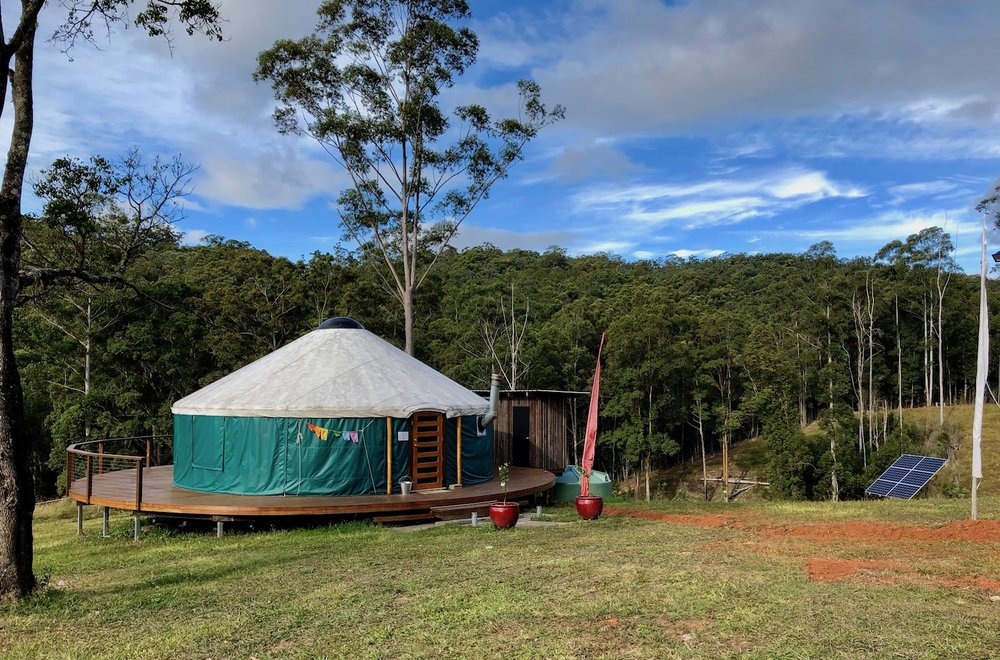 off grid yurt - Crystal Creek