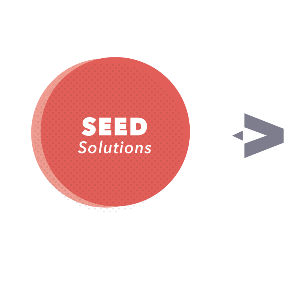 SEED   Then we find the most ambitious solutions and entrepreneurs working to solve these problem. Entrepreneurs that have early evidence of impact but need help scaling and reaching more students.