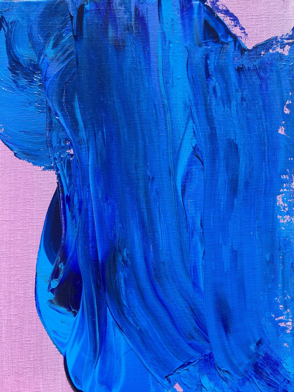purple haze, acrylic paint, 8x10 in. panel, (2018)