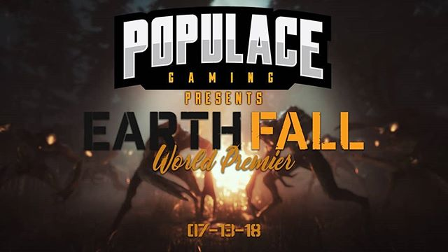 Mark your calendars PGFam, @earthfallgame will be launching and we will be streaming it! @wdc_gaming