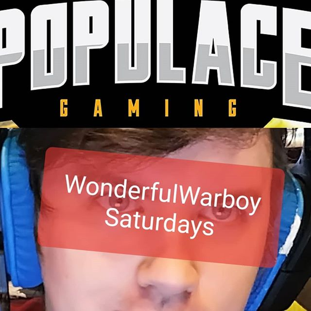 LATE NIGHT SESSION!!! #WonderfulWarboySaturday !!! Standby to click that START button!!! Or head on over to twitch.tv/populacegaming