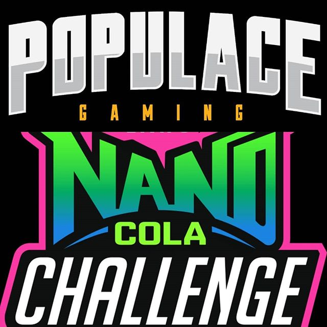 Dont forget to tune in tonight as we take the #NanoColaChallange Twitch.TV/PopulaceGaming