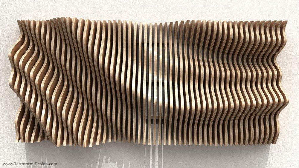 phoenix 5 w – parametric cnc router postmodern organic geometric plywood wall fixture panno terraform design.jpg