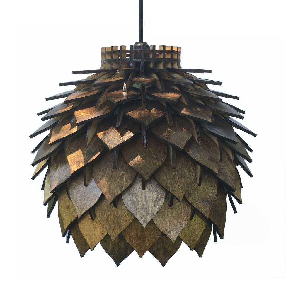 spore lamp 3 – handmade laser cut parametric postmodern interior light geometric wooden pendant lamp terraform design.jpg