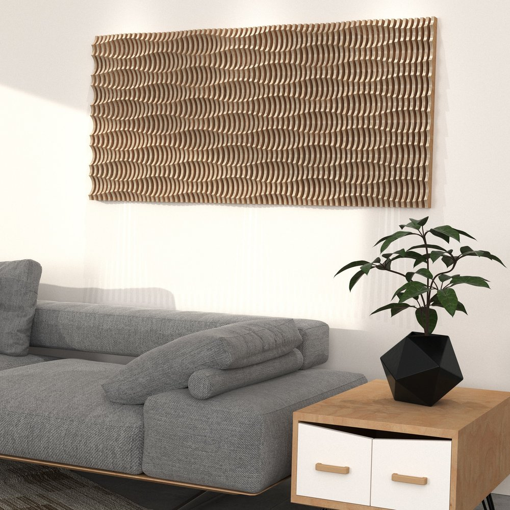 acoustic I_mdrn_4 parametric cnc router postmodern sectioned organic geometric plywood wall fixture accent accessory wall decoration panel terraform design.jpg