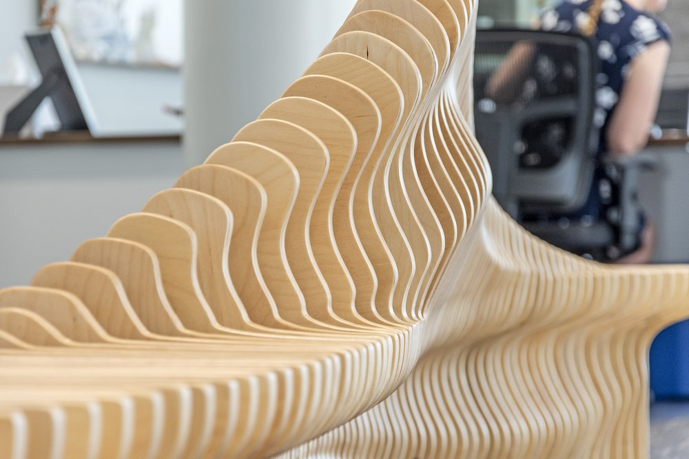 sabal palm bank bench 9 handmade parametric furniture cnc router sectioned flowing wooden decorative postmodern organic geometric plywood airport museum public bench terraform design.jpg