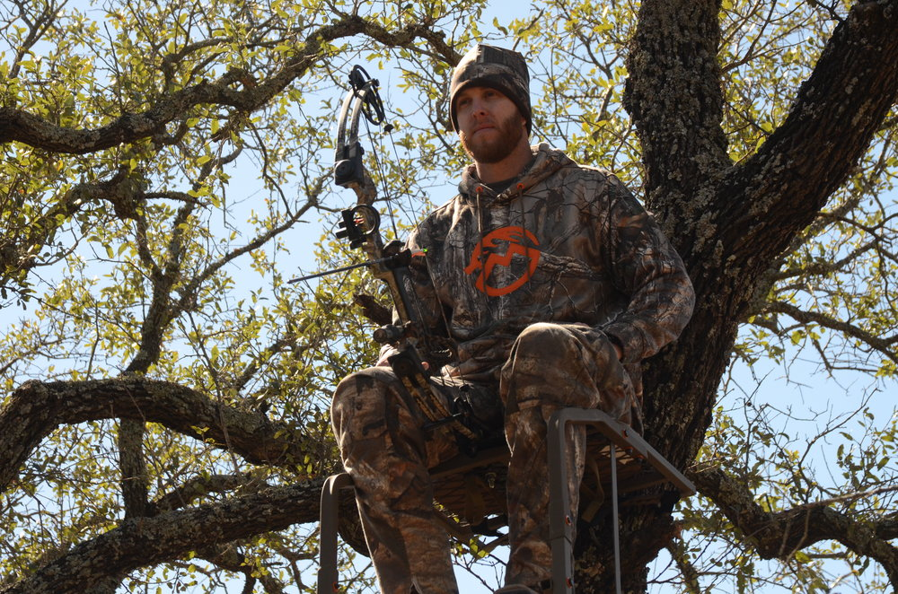 Paul FullerPro Staff - Paul grew up hunting dove on public land with his Dad and brothers. Although they never shot anything,good times were had and he enjoyed hunting outdoors. When he met his future wife at age 16, he was introduced to whitetail hunting in Pontotoc, Texas on her family's land. After becoming an expert rifleman,he was given the chance to shoot a deer with a bow and was hooked. He was enamored with archery and didn't shoot a deer for 3 years with his rifle. Now that his oldest son is of